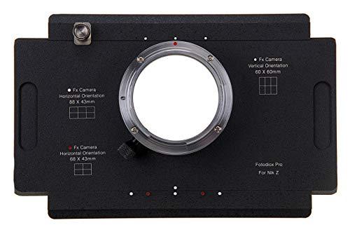 Fotodiox Pro Adaptador para Montar Cámaras con Montura de Nikon Z a...
