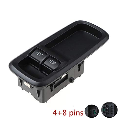 KUANGQIANWEI 8A6T-14A132-AC 8A6T14A132AC Ventana remota Delantera de la Ventana Renuadora Ajuste para Ford Fiesta Vi 1.4 TDCI 4 + 8 Pins Conexión