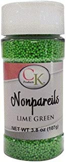 Best lime green nonpareils Reviews