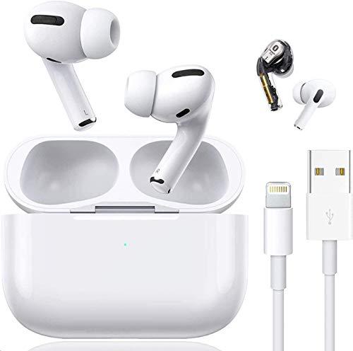 Auriculares Inalámbricos, Auriculares Bluetooth 5.0 con HD Micrófono, Caja de Carga Portátil con Carga de 24 Horas, IPX5 Impermeables Auriculares Deportivos Bluetooth para iPhone/Android