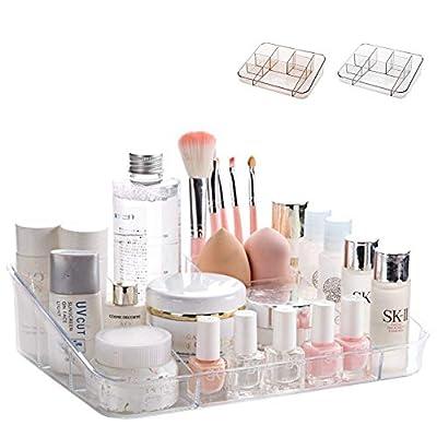 SUNFICON Makeup Organizer Tray