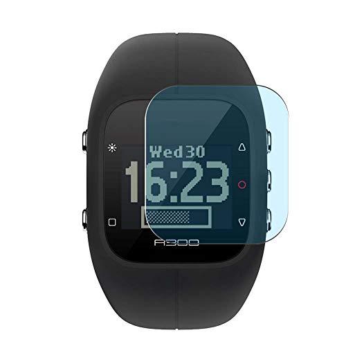 Vaxson 3 Stück Anti Blaulicht Schutzfolie, kompatibel mit Polar A300 Smartwatch Hybrid Watch, Bildschirmschutzfolie TPU Folie Displayschutz [nicht Panzerglas Hülle Hülle ]