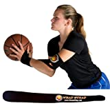 HoopsKing Guide or Off Hand Shooting Device Wrap Strap Basketball Shooting Aid Stop Thumbing The Basketball