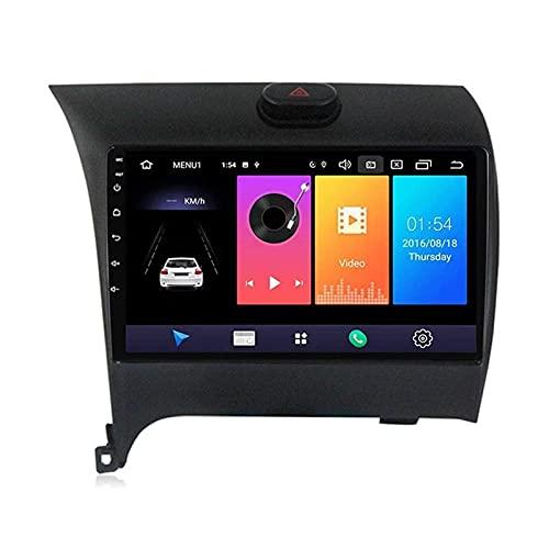 ZHANGYY Android 10.0 Navegación GPS Reproductor de Radio para automóvil Compatible con Kia k3 2013-2015, Reproductor Multimedia táctil Sn de 9', FM/DSP/Bluetooth/Mirrorlink/Cámara de visión