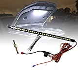 GraceYou Under Hood LED Light Kit, Car LED Lights Car Hood Work Inspection Lights with Automatic On/Off -Universal Fits Any Vehicle