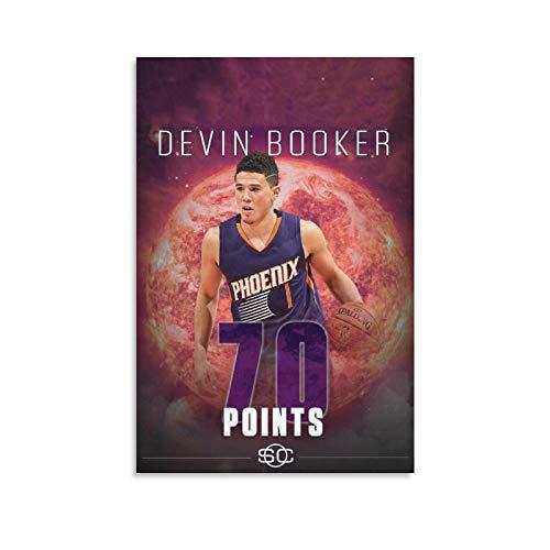 FAJIA Devin Booker - Póster decorativo de 70 puntos (20 x 30 cm) ⭐