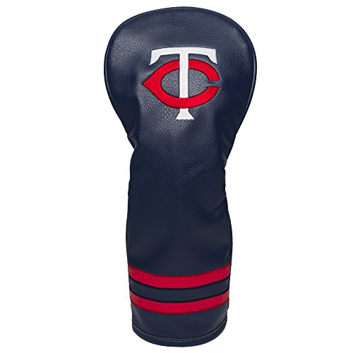 Golf driver head cover with Minnesota Twins logo design