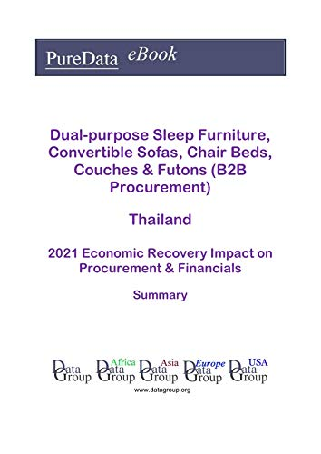 Dual-purpose Sleep Furniture, Convertible Sofas, Chair Beds, Couches & Futons (B2B Procurement) Thailand Summary: 2021 Economic Recovery Impact on Revenues & Financials (English Edition)