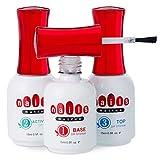 Dip Powder Base Activator and Top Coat Liquid...