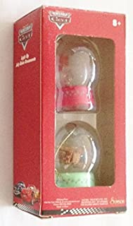 Cars Movie Mater & Lightning McQueen Set of 2 Jelly Globe Ornament (2.25