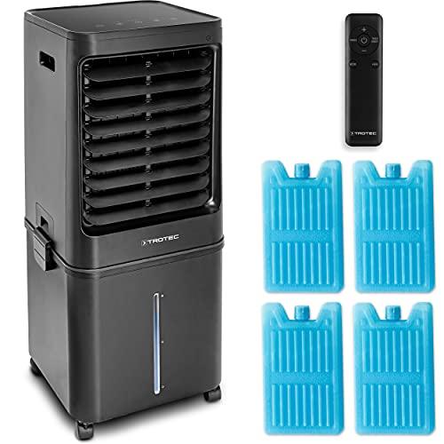 TROTEC Aircooler, Luftkühler, Luftbefeuchter PAE 80 4-in-1-Luftkühler: Kühlt, erfrischt, reinigt und befeuchtet die Luft lokales mobiles Klimagerät Klimaanlage Timer 60 l Wassertank