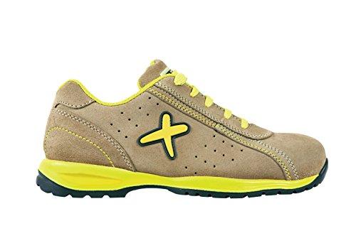 Exena 1100070021413 - Misano - scarpe di protezione del lavoro, dimensione 41, beige