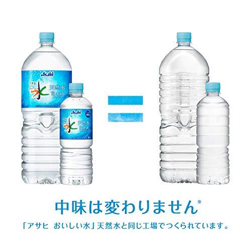 『[Amazon限定ブランド] #like アサヒ おいしい水 天然水 ラベルレスボトル 2L×9本』の7枚目の画像