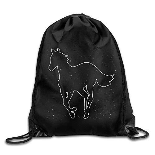 Hicyyu Disturbed Teenage Zombies Drawstring Backpack Cool Sports String Bag