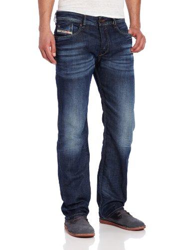 Diesel Men's Waykee Regular Straight-Leg Jean 0806U, Denim, 29x32