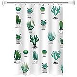 CXL Wasserdichter Duschvorhang aus Polyester, Toilettenbadezimmervorhang, Duschwandvorhang