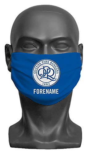 Personalised Queens Park Rangers FC Crest Adult Face Mask- Large