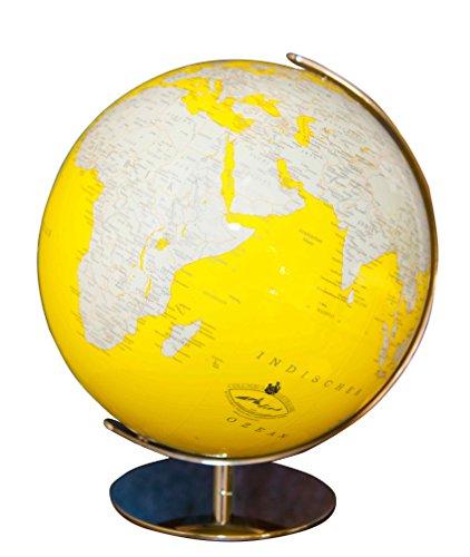 Columbus Verlag Columbus verlagse 75348534cm ARTline Luminous Globes mit Edelstahl Verschraubung, Stahl
