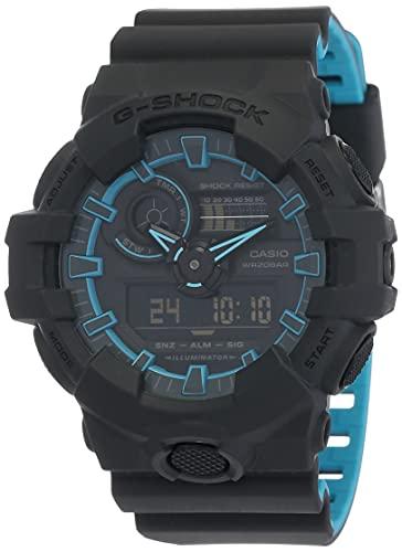 Casio G-Shock Analog-Digital Black Dial Men's Watch - GA-700SE-1A2DR (G762)