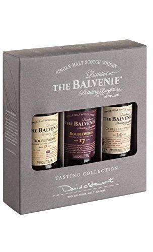 Balvenie 12 YO + 14 YO + 17 YO 3x50ml 43% Vol.