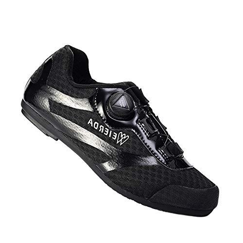 YZJYB Unisexe Respirant Chaussures De Vélo Chaussure De Cyclisme Spinning Professionnels avec...