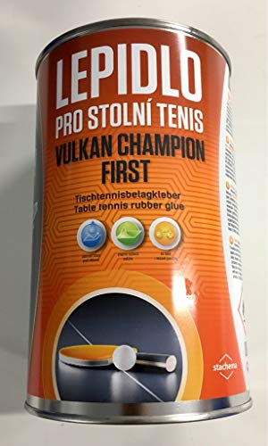VULKAN Tischtennis Belagkleber Champion First, 1000 ml