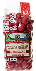 Cherry Republic Chocolate Cherries - Authentic & Fresh Imperial Chocolate Covered Cherries Straight from Michigan