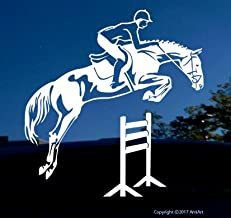 AmiArt Jumping Horse Sticker Decal- Right- X Large Each 9