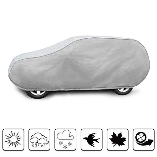 Road Club bâche Auto de Protection Compatible avec Land Rover Defender 90 (1959 - Aujourd'hui) Imperméable, Respirant et Anti UV