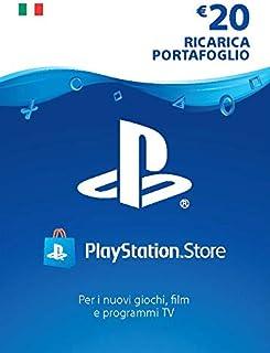 PlayStation Network PSN Card 20€ | Codice download per PSN - Account italiano