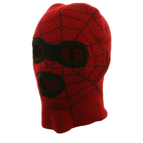 Super Hero Spiderman Ski Mask-Red W20S13D (One Size, Red)