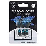 PLANETMOVIL Pack 6 Tapa Protector de privacidad Cubre Webcam CAM tapadera para portatil pc Tablet o Smartphone Deslizante