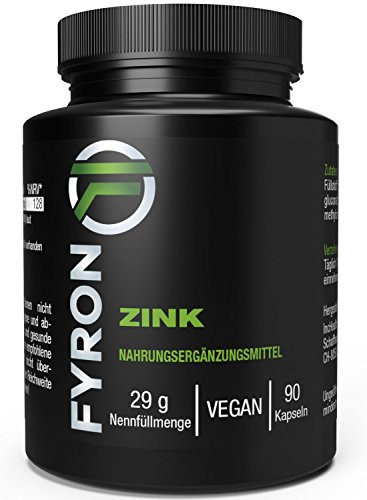FYRON Zink – Immunsystem, Körper & Geist - Hochdosiert & Vegan