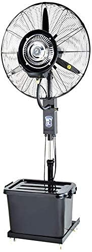 Ventilador de refrigeración de ahorro de energía para el hogar - Ventilador de refrigeración grande Humidificador de nebulización Ventilador oscilante comercial silencioso Towern Eléctrico giratorio