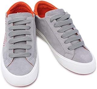 [トリーバーチ] アウトレット品 靴 スニーカー グレー×オレンジレッド (11148563 064 MERCURY/POPPY RED) [並行輸入品]