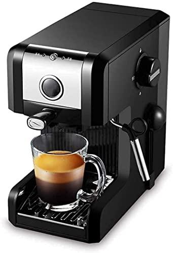 XIKUO W pełni automatyczny młynek do parzenia kawy Produkty Ekspres do kawy espresso 20 barów, capuccino, spienianie mleka, 1250W, dysza pary Pojemność 0,97L Wyjmowana tacka ocieko