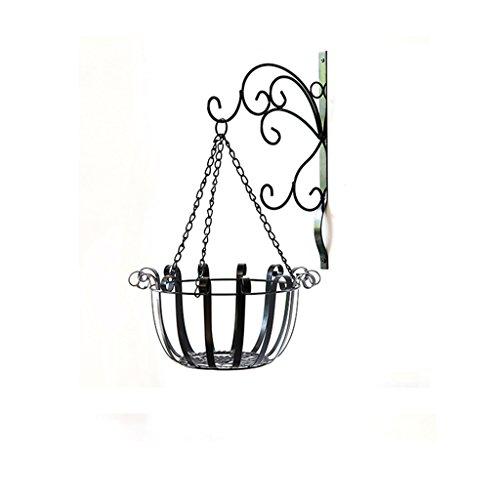 MLHJ Stand de Fleurs- Support de Fleur en Fer, Support de Fleur Suspendu Support de Support de Pot de Fleur de Balcon de Salon (Taille : 25 * 55cm)