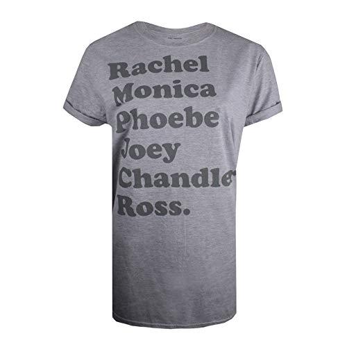 Friends Names Camiseta, Gris (Sport Grey...