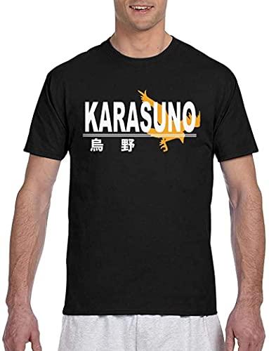 Karasuno Crest (Light) 3D Printed Short Sleeve T-Shirt Crewneck Tees for Mens