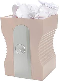 Balvi Corbeille à Papier Sharpener Couleur Rose Corbeille de Recyclage Accessoire Parfait pour Votre Bureau ou au Travail ...