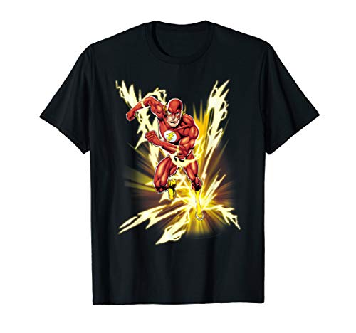 DC Comics The Flash Lightning Speed T-Shirt