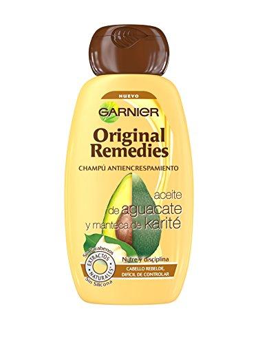 Garnier Shampoo, Original Remedies Champú Aguacate Y Karité, 250 ml