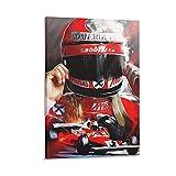 lianxue Niki Lauda F1 Poster, dekoratives Gemälde,