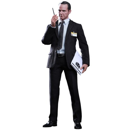 Hot Toys Movie Masterpiece - 1/6 Scale Fully Poseable Figure: The Avengers - Agent Phil Coulson