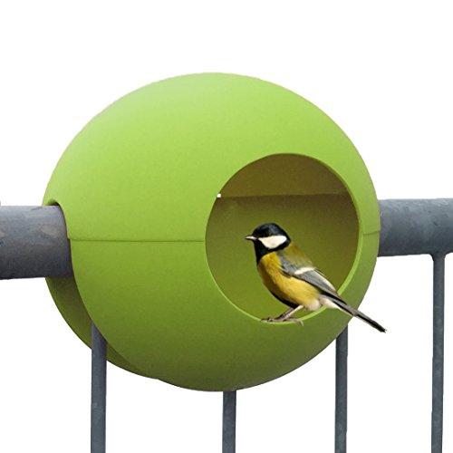 rephorm® ballcony birdball Vogel-Futterhaus für Kleinsingvögel/Ganzjahresnutzung/balkonhängend/Ø 30cm