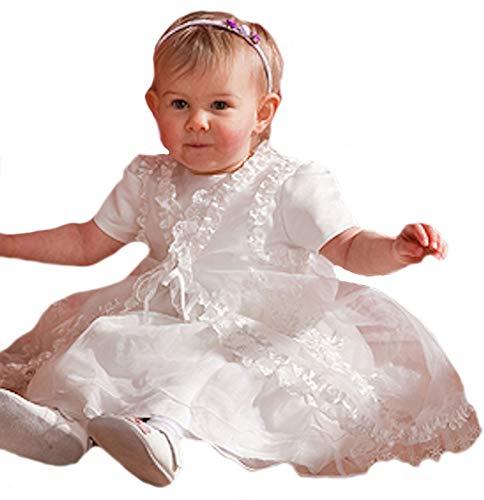 HOBEA-Germany Taufkleid Blumenmädchen Baby Festkleid, Modell: Florence, Größe Kleider:62