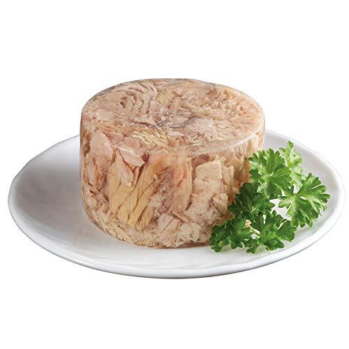 GimCat ShinyCat in gelatina tonno e pollo- Cibo umido in gelatina con pesce e carne per gatti - Ricco di proteine - 24 Lattine (24 x 70 g)