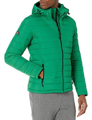 Superdry Herren Hooded Fuji Jacket Jacke, Oregon Green, X-Large