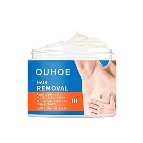 BSOA Depilación para Hombres y Mujeres, Crema depilatoria para Todo el Cuerpo Crema depilatoria Suave para Brazos, piernas, Axilas