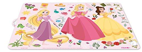 ALMACENESADAN 0429, Mantel Individual Disney Baby; Disney Princesas; Dimensiones 43x29 cms; Producto de plástico; Libre bpa.